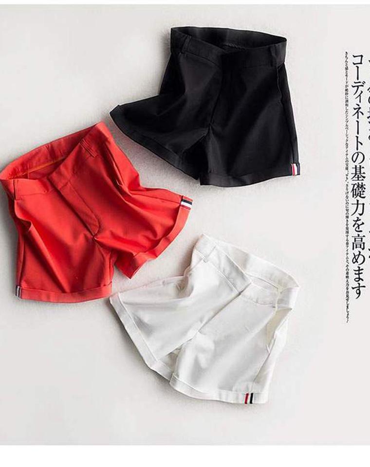 日式夯货   孩儿妈必收  仅85元   日单一线大牌订单   超好品质 气质四分裤