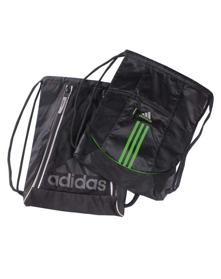 只为赚口碑  仅39元 杂款清货  可配情侣款  ADIDAS阿迪达斯纯正原单  中号  大号  抽绳旅行包 便携包