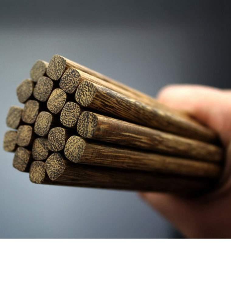 4双一组   品质生活    小日本订单  天然鸡翅木筷 环保木筷子 家用木筷