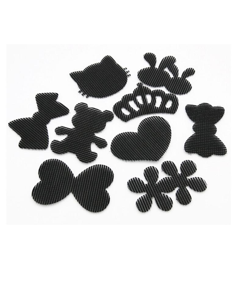 9块9包邮    2个一组  孩儿妈闺女都要有   韩国订单   简洁清新又洋气  黑色魔法贴 碎发贴 刘海贴