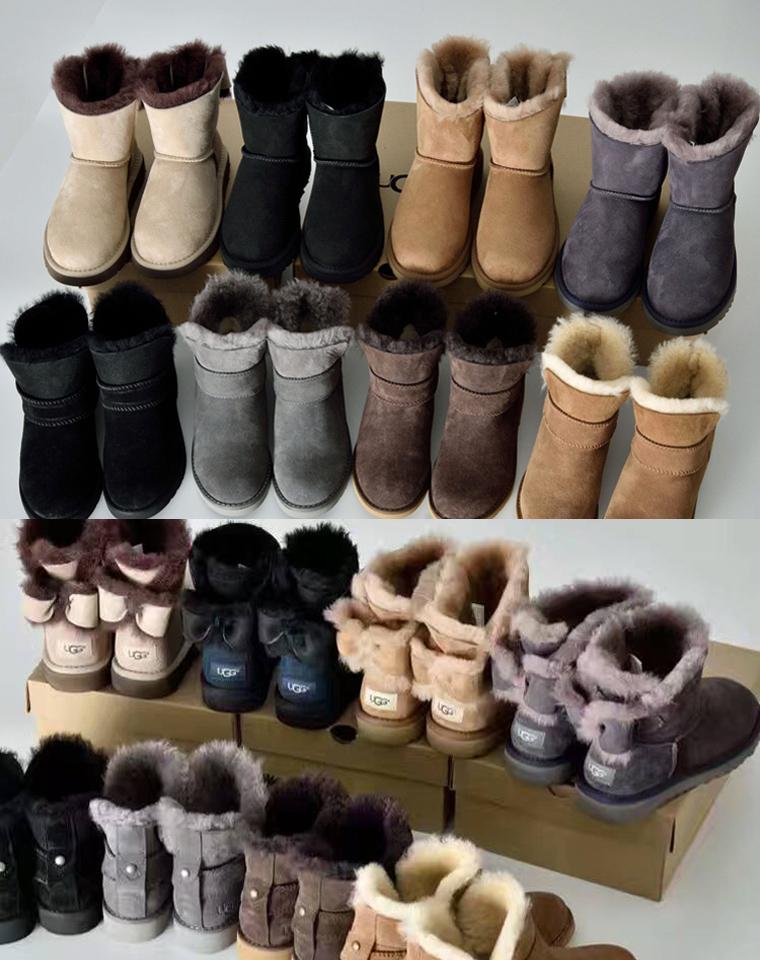 冬季暖脚必备  仅328元  澳洲UGG 秋冬最新  羊皮毛一体 经典雪地靴
