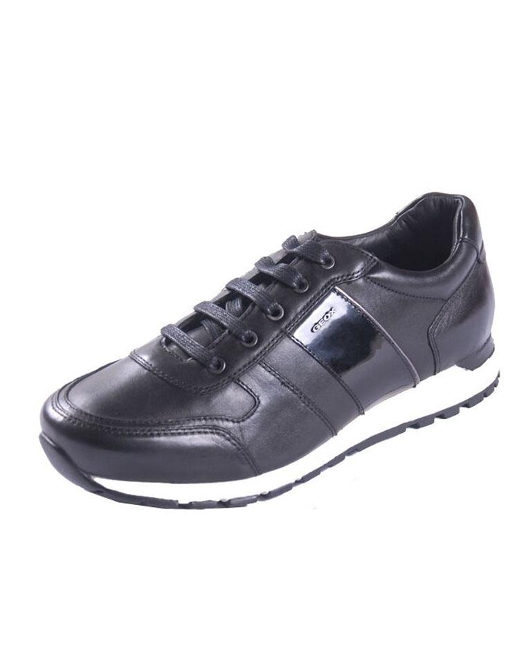 特殊渠道 保真  仅398元  Geox健乐士男鞋  小牛皮系带 专利呼吸大底  英伦皮鞋