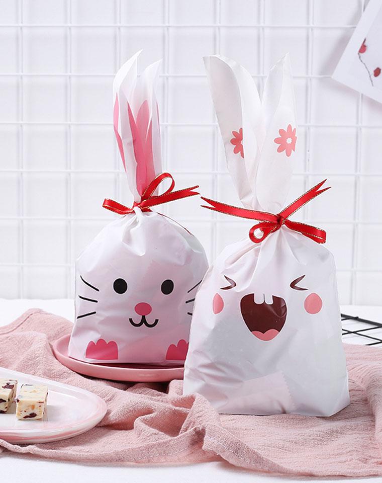 9块9包邮!!! 家家都要有   包裹皮 立体耳朵小兔绵羊  糖果礼物包装袋 多款9块9包邮
