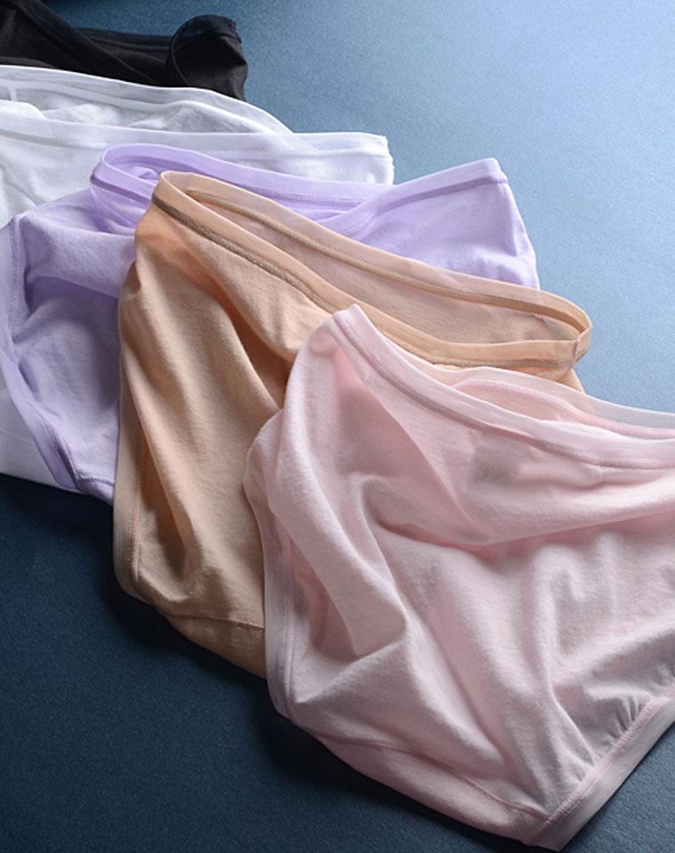 超轻薄 无出其右  仅29元  出口订单  舒适柔软透气 棉纱材质 可收N条的轻薄内裤