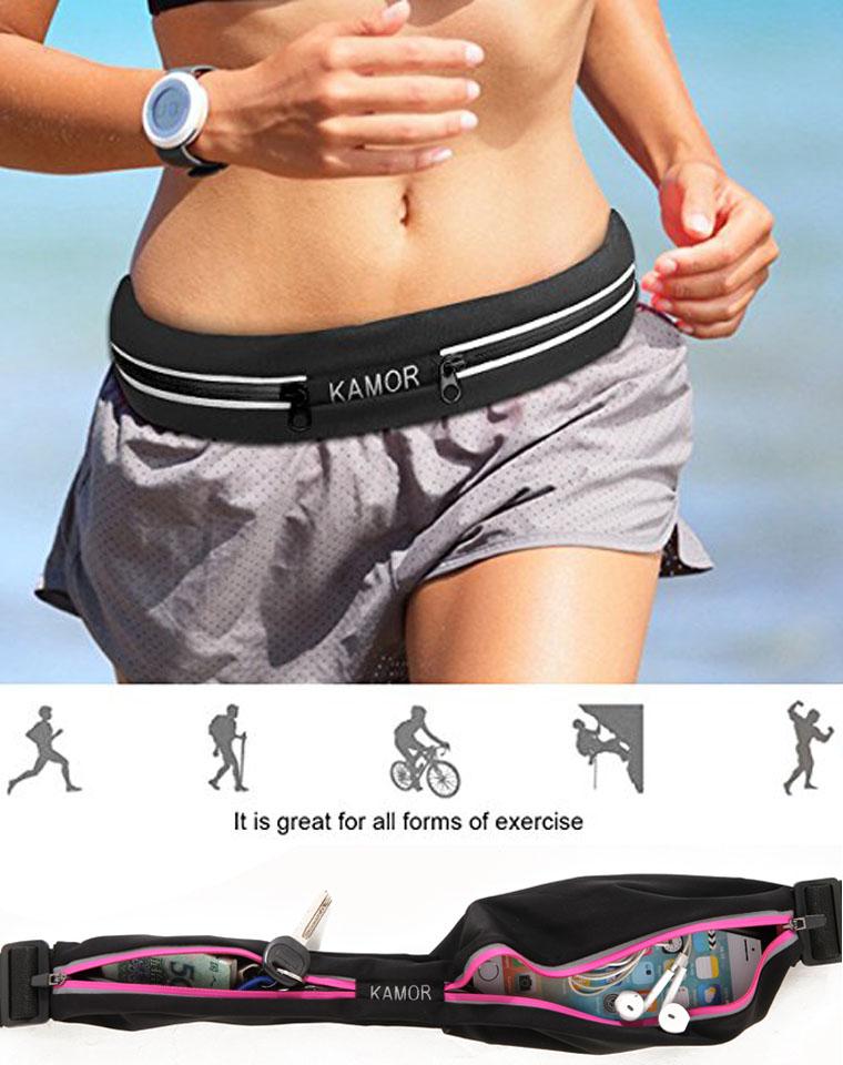 贴心物件  一家人都需要  仅28元  美国kamor纯正原单   运动跑步腰包  解放双手,颜色随机发 运动将会不是一项单调的运动!