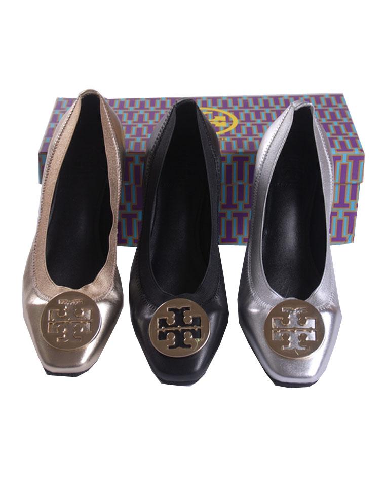 特殊渠道   支持验货  仅248元 奢华的活力诠释 美国Tory Burch 托里伯奇  时髦松紧口芭蕾鞋  专柜在售 气质百搭 三色平底鞋