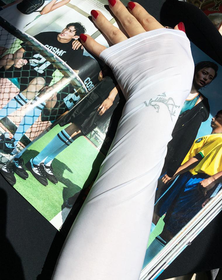 最高比格冰袖   一家人都要有 仅39元    日本DESCENTE迪桑特  法国lecoqsportif 乐卡克   Arcteryx 始祖鸟  防晒开车 骑行 运动实用小单品 防嗮冰袖 袖套 臂套