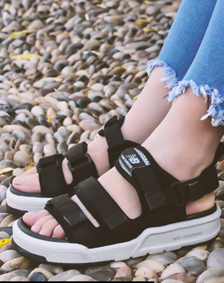 无需代购   情侣款 仅198元  NEW BALANCE 2017夏季新款 魔术贴 厚底缓震 舒适沙滩鞋