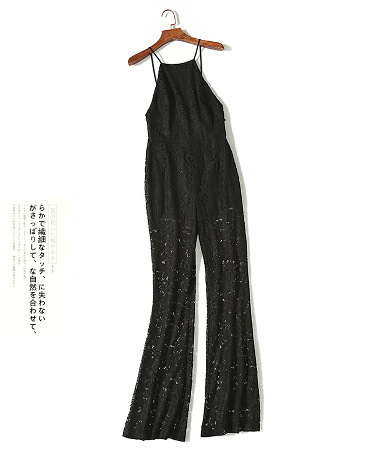 超值捡漏  仅68元  美国forever21 纯正原单  时尚大气~蕾丝拼接 高腰显瘦连体裤