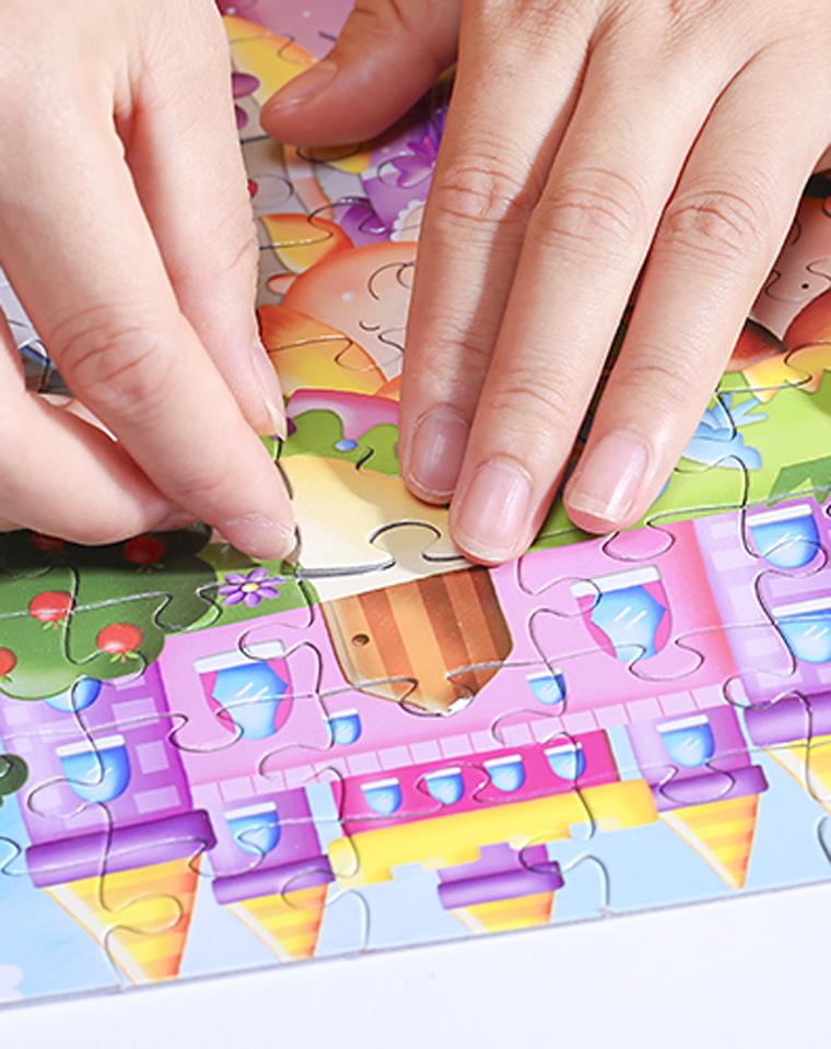 暑期和孩子一起  最好的亲子益智拼图  仅19.9元   美国Grafix订单 官网同步  15美金 100片油画拼图