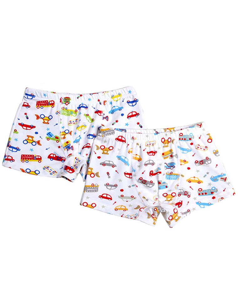 9块9包邮     亲妈必收 4-10岁男女童纯棉内裤    出口日本订单  男童汽车飞机  女童动物花朵  印花 超舒适棉质平角内裤