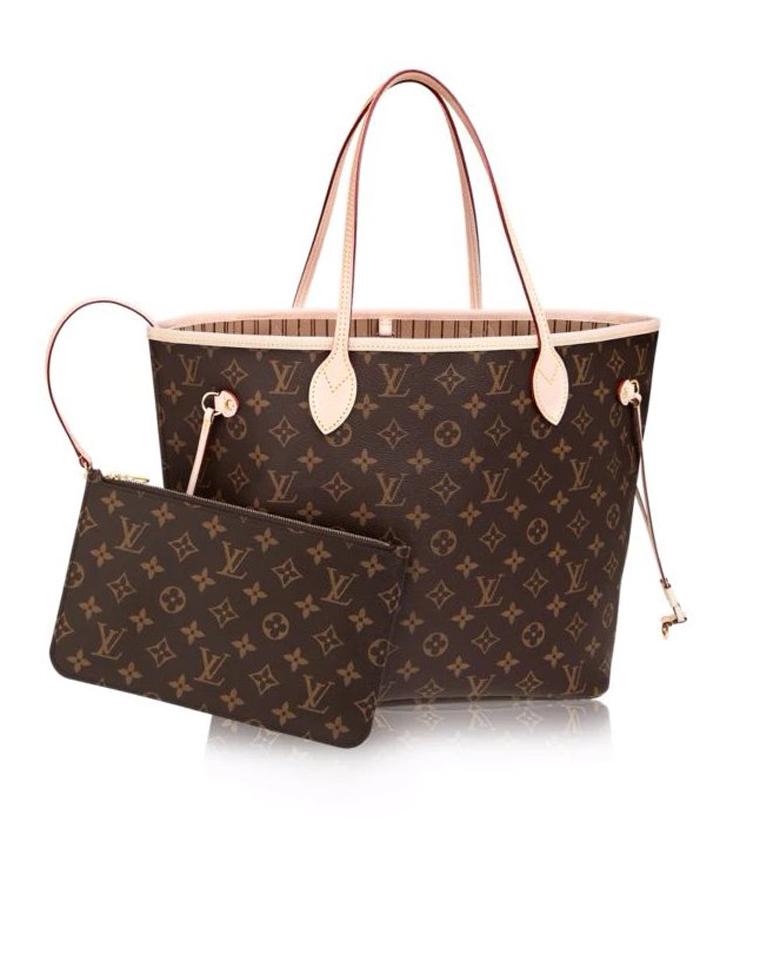 特殊渠道  仅1158元  Louis vuitton 路易威登LV  NEVERFULL 老花款购物袋 子母包 两件套