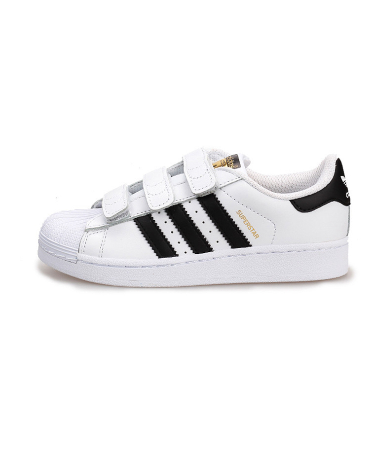 亲妈必收     仅128元  ADIDAS阿迪达斯 三叶草 男女童 SUPERSTAR FOUNDATION 鞋 亮白