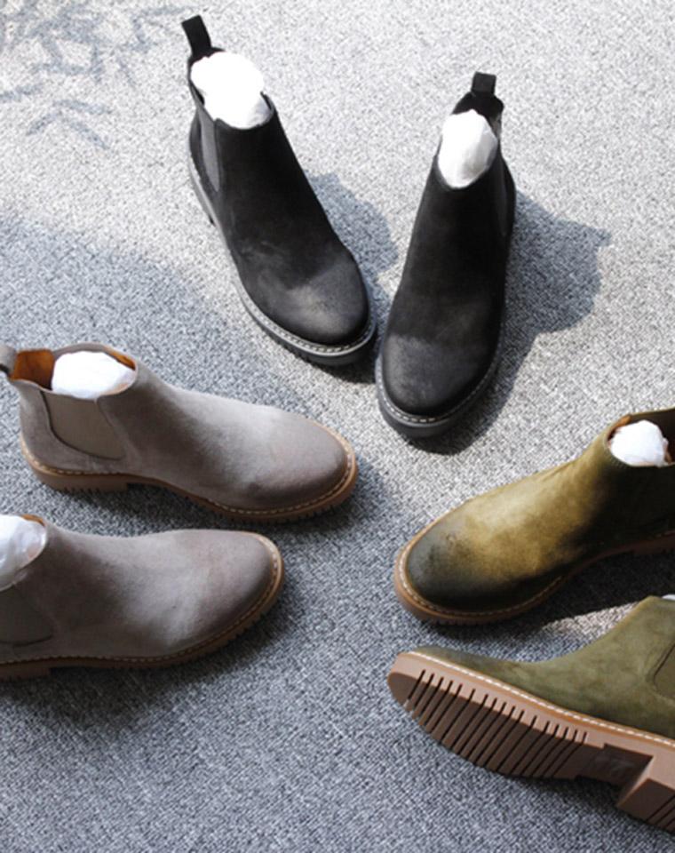 特殊渠道 品质保证 仅228元  Church's牛皮   擦色 做旧复古英伦范马丁靴拉 短靴 百搭舒适