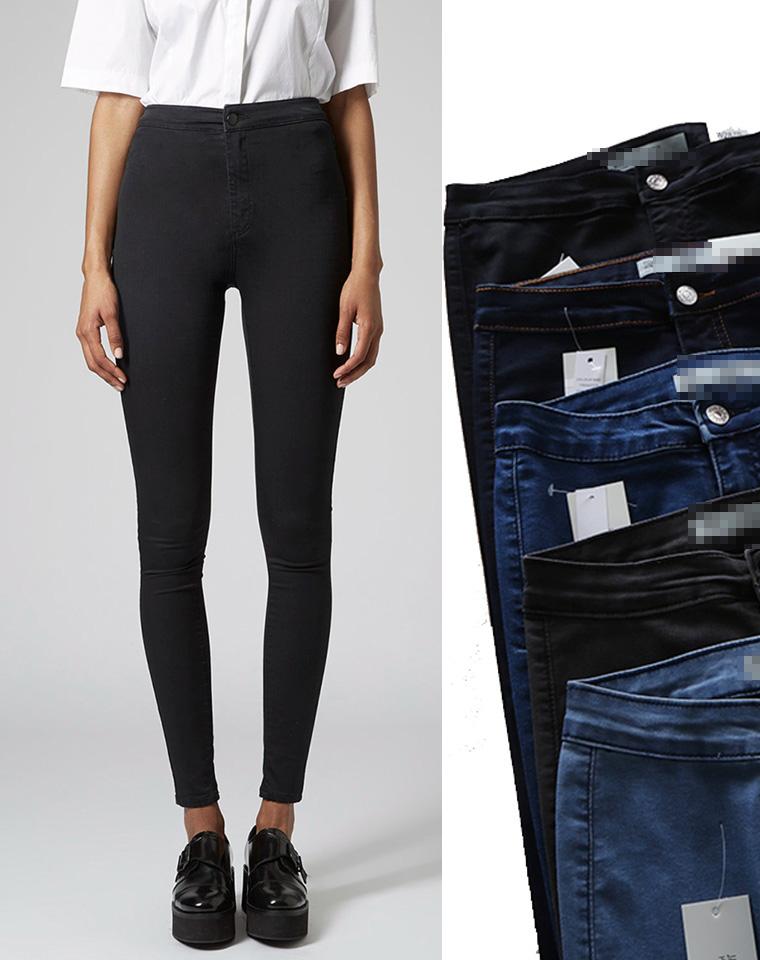 舒适到不像牛仔的裤子 人手N条不嫌多  JAMIE旗下纯正原单 仅79元   显瘦高腰弹力小脚牛仔裤