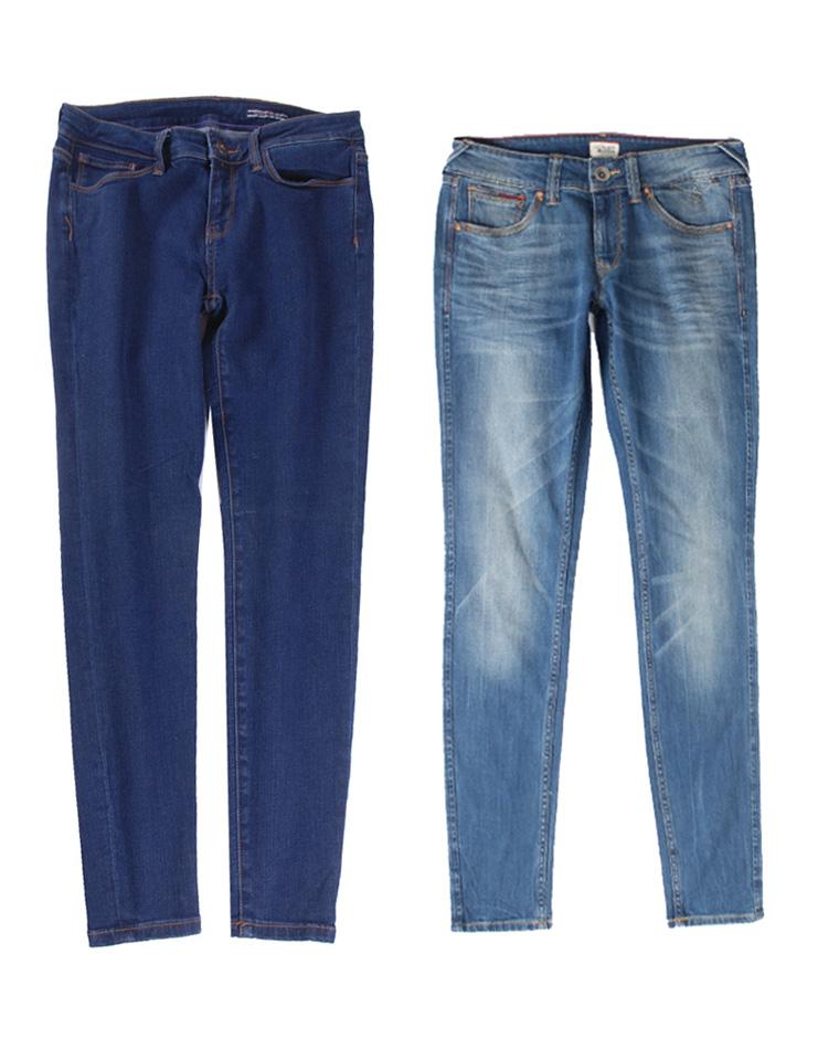 孩儿妈最好穿的中高腰裤  仅95元  美国Tommy Hiligfer汤米纯正原单  弹力修身 舒适 牛仔长裤铅笔裤