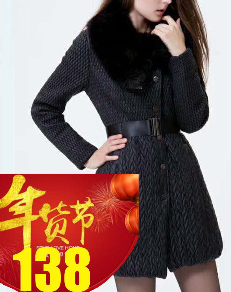 年终捡漏钜惠    仅128元 超级牛货!!! 仅198元 韩国高端设计师品牌Demoo parkchoonmoo  纯正原单大毛领棉服  ,怎一个华丽丽了得!!