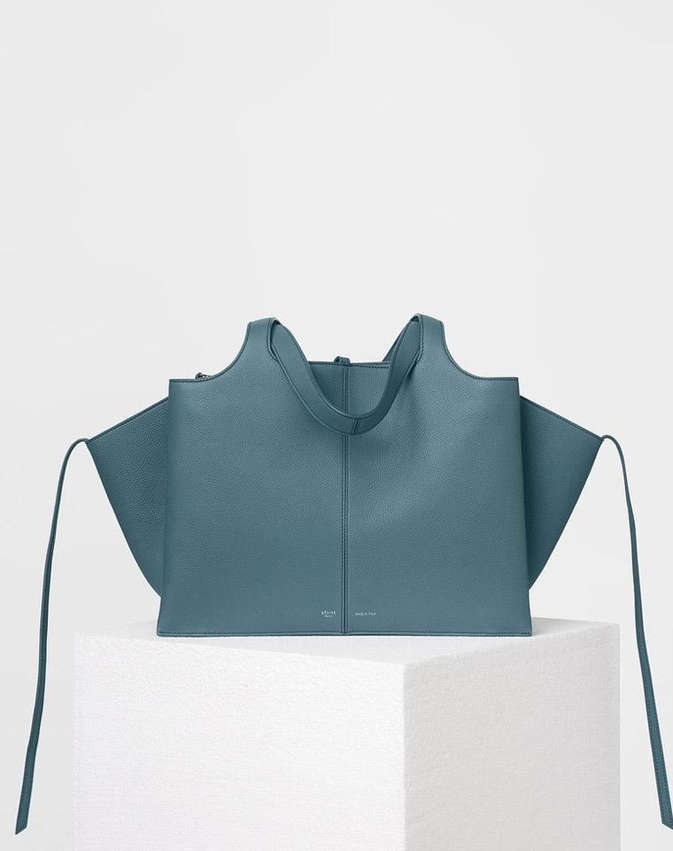 年末压轴牛货  好货就是贵 仅1548元 法国Celine瑟琳  海外订单 Tri-fold 单肩手提包