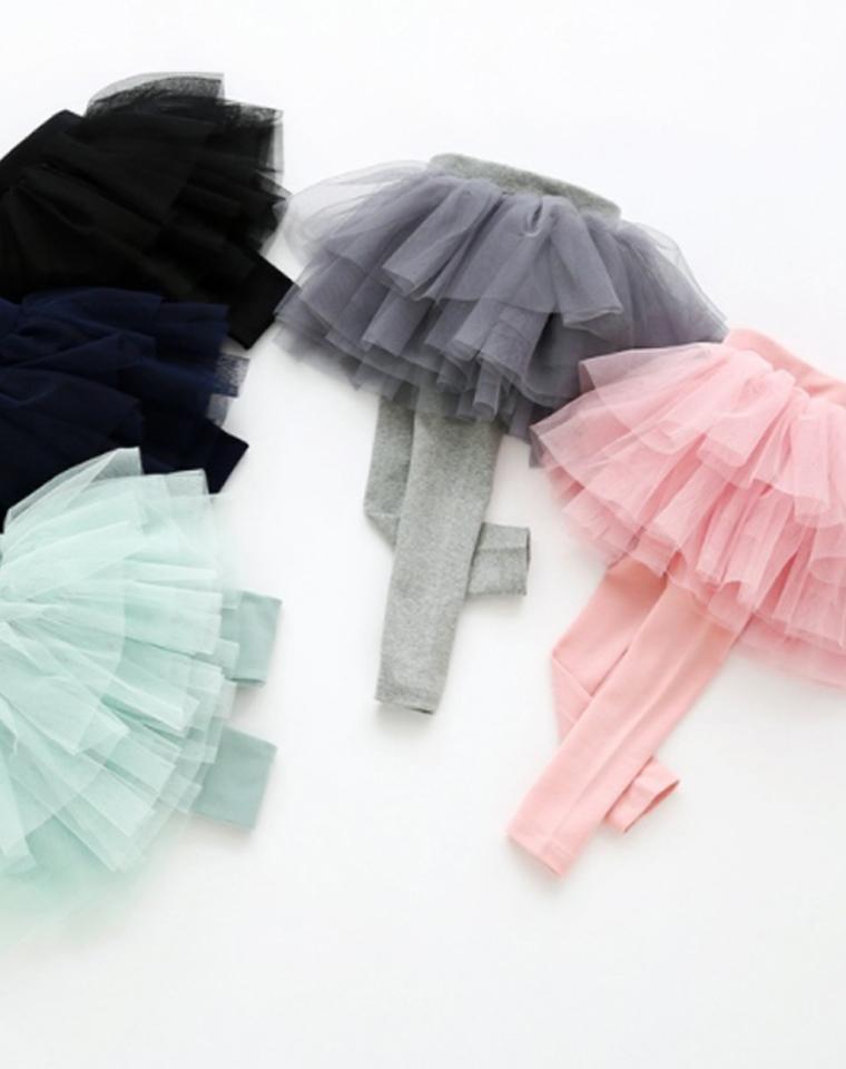 亲妈必收  仅44.9元  最新  全棉公主女童裙裤  网纱蓬蓬裙