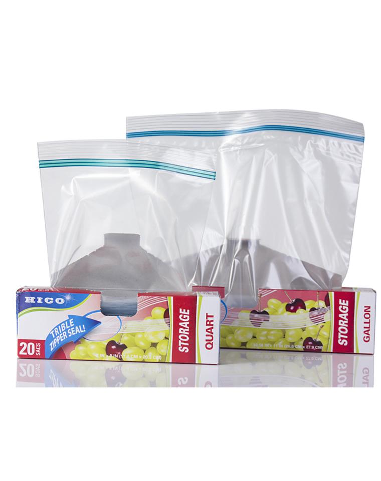 家家都要有   仅8.8元一只       三道封口 食品级安全     小日本HICO订单  食品级环保密封袋,20个装
