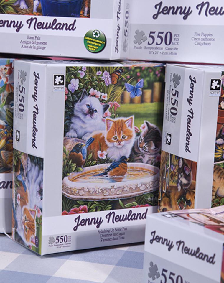 和孩子一起  最美好的亲子益智时光  仅16.8元   美国Karmin International订单   官网同步39美金 550片油画拼图