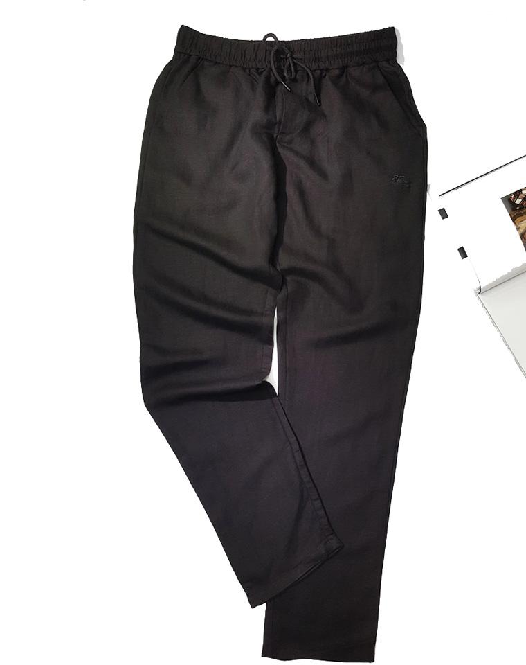 给纯爷们的硬货  养人清爽是亚麻 仅158元  英国Burberry纯正原单 夏日薄款~马标麻质长裤