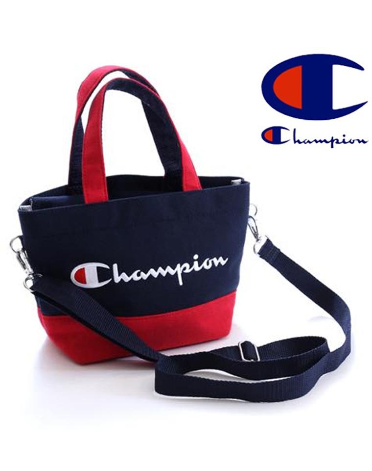 可手提可单肩可斜跨  仅68元 日本限定小号champion冠军 刺绣 拉链手提袋手拎斜挎包