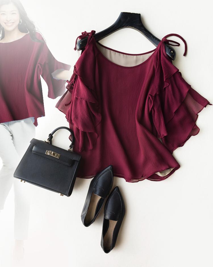太美了!炎夏必须有  仅128元  双层100%桑蚕丝真丝顺纡 一衣两穿 优雅灵动飘逸减龄衬衫
