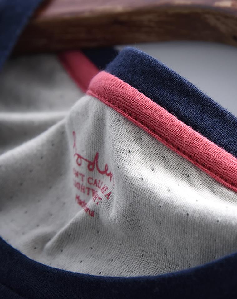 极致柔软!打孔棉!!!给英国boden老粉   仅59元  boden最新  舒适弹力双层棉 圆领长袖T恤