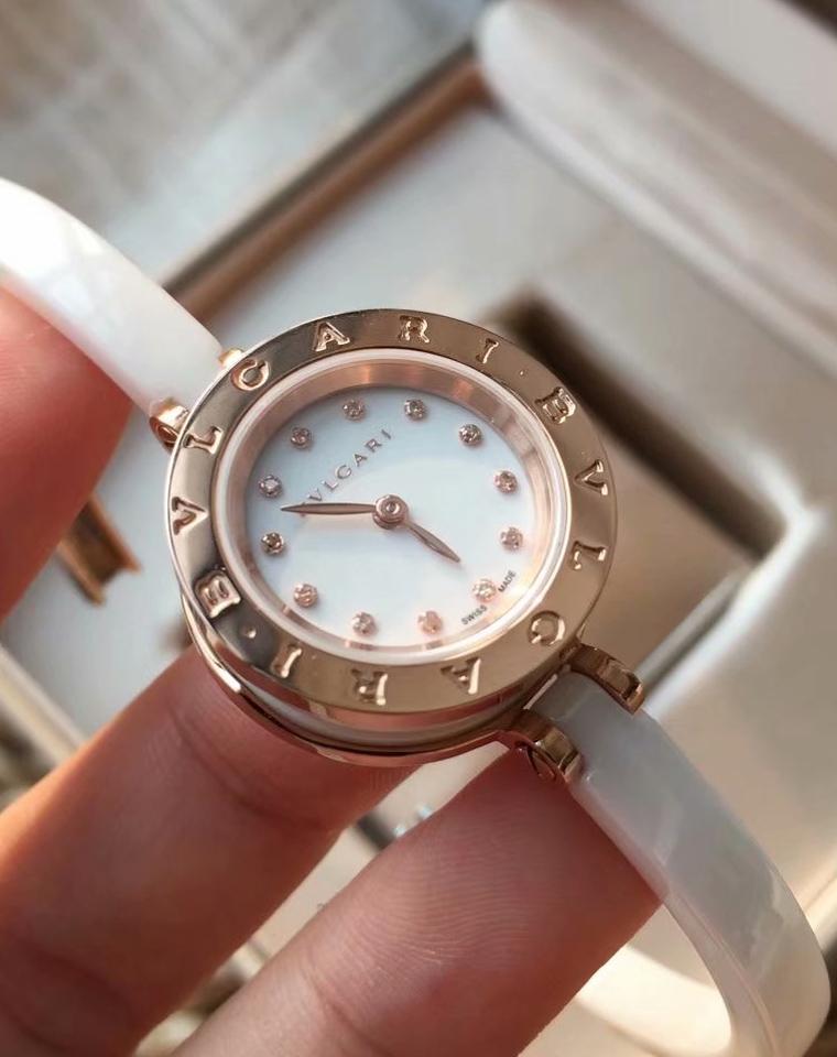 双11扛把子硬货 只限老团员 仅1600元 2280元 顶级私密货 BVLGARI(宝格丽)Be ZERO1系列 VS级9分真钻女款腕表!