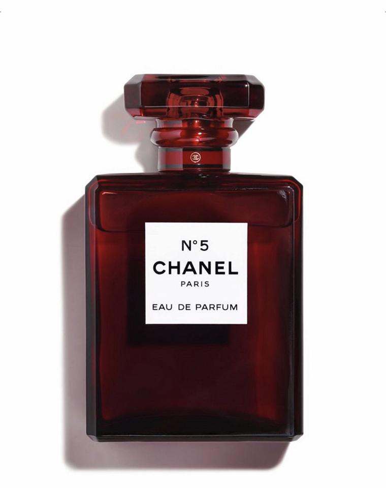 限量圣诞红瓶 仅228元  Chanel 香奈儿 圣诞限量经典5号香水100ml红色瓶
