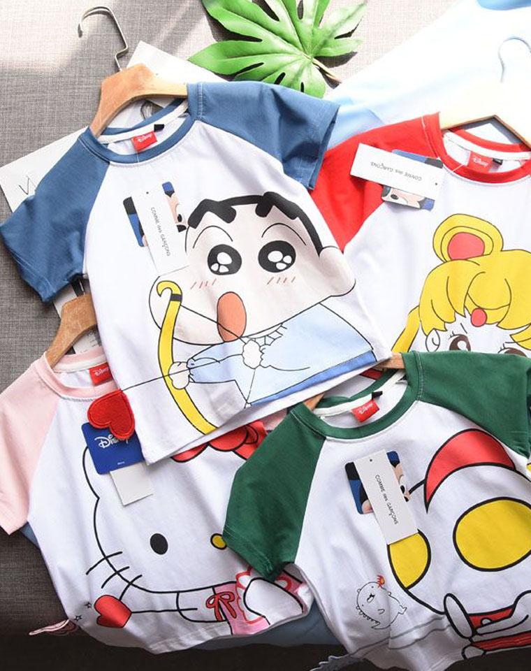 亲妈必收  男童女童都有仅29.9元    Disney纯正原单 春夏最新  纯棉短袖T恤