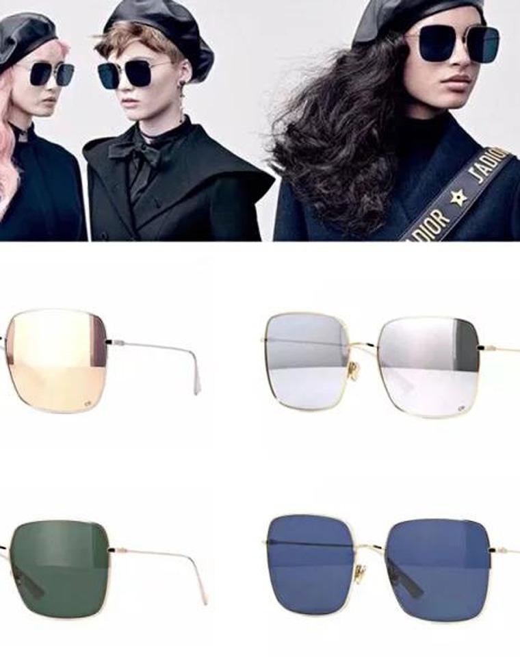 特殊渠道 仅268元  Dior热门超上镜~瞬间小脸~方形太阳镜