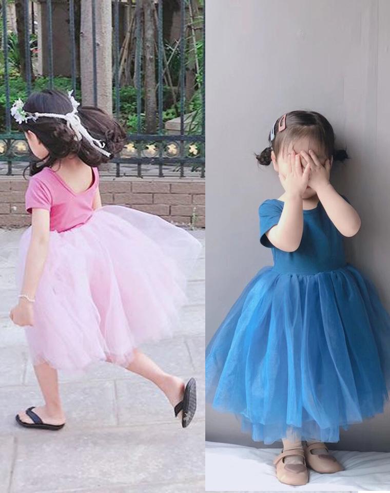 """给风一样的""""铝孩纸"""" 仅79.9元  超美4层纱 柔软纳米亲水棉 女童短袖蓬蓬连衣裙"""