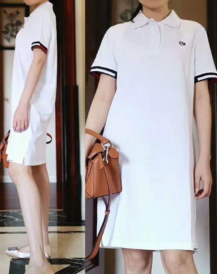 一批内部单 全品相 仅128元  Tommy Jeans纯正原单  珠地棉 超亲肤 H型POLO短袖连衣裙2色
