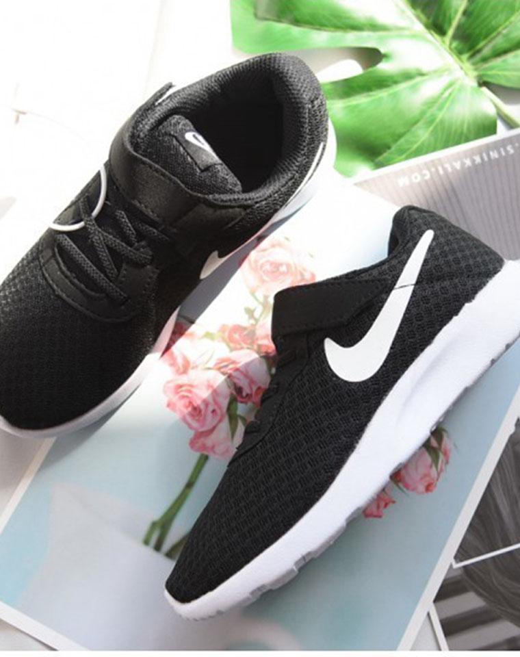 给小朋友的福利!!! 儿子  闺女全都有  仅98元!!  Nike Tanjun 三代经典  透气网面运动鞋
