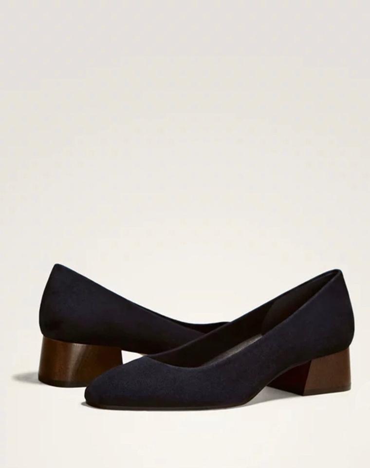 超值捡漏  仅295元  西班牙高端Massimo Dutti MD纯正原单 19夏 女款方根浅口皮鞋