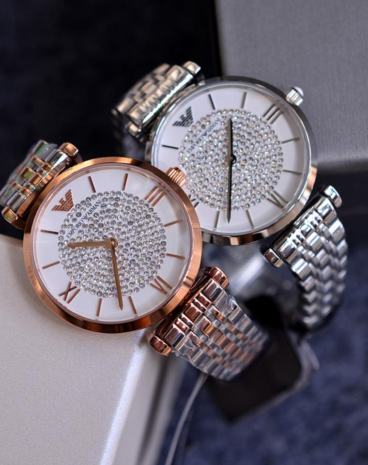 我愿意把星辰银河送给你   爆美~ 仅395元  Armani阿玛尼满天星女士手表 AR1926