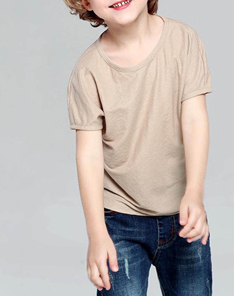 店庆特供!!防蚊艾草系列  亲妈必收!! 仅29元 艾草植物纤维防蚊系列  超舒适  男童女童 纯色短袖T恤