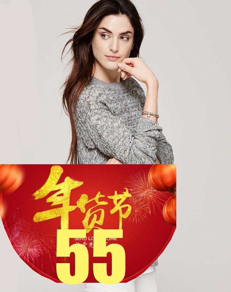 9周年庆特供   仅69元  美国行政第一品牌 LOFT纯正原单  亚麻混纺 前短后长 中长款镂空衫