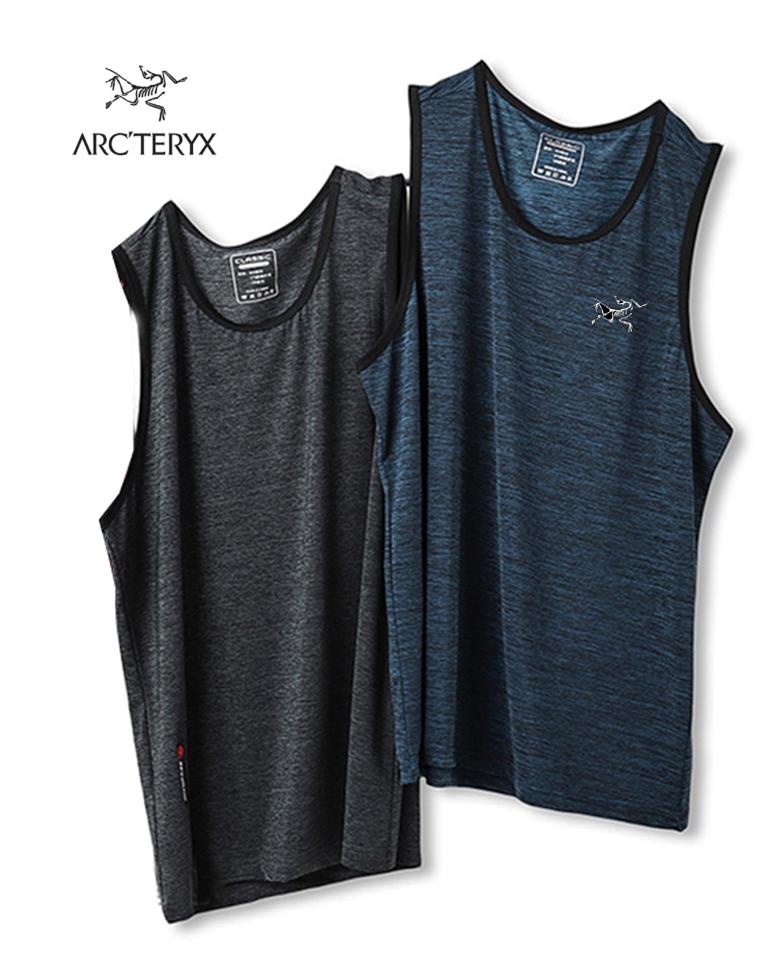 给纯爷们の硬货 仅59元 加拿大Arcteryx始祖鸟   夏季新款  花线冰丝 排汗速干背心 运动背心 有大码5