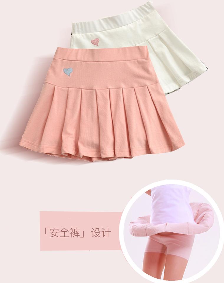 安全的才放心  亲妈必收 仅46元  日本订单  好品质 女童内里安全裤 百褶裙裤