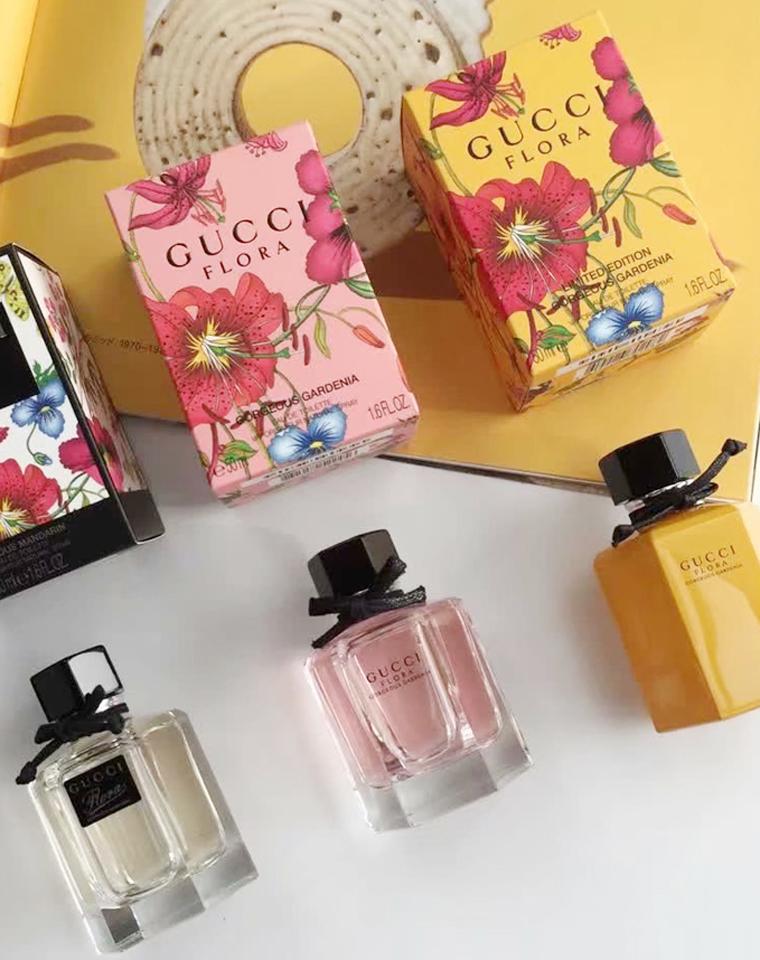 盛夏倾心   仅145元  GUCCI  Flora系列特殊渠道  女士香水 三种味道 50ml