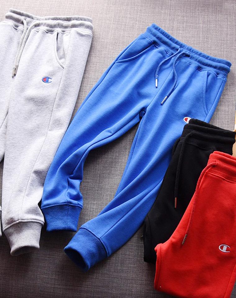 超温情亲子卫裤 仅48元 68元  Champion纯正原单 好品质纯棉 收口卫裤 超级拉风母女款  母子款