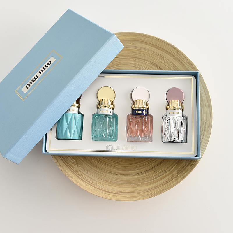 MIU缪!你想要的都有!仅125元  香水小样套盒20ml四件套套装 粉漾香水礼盒