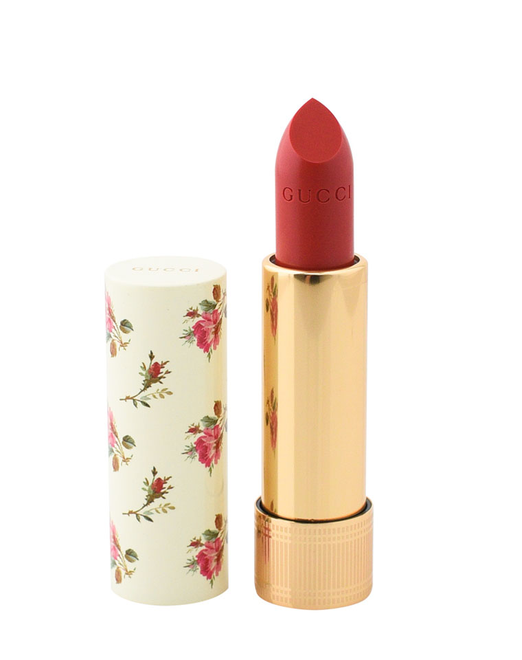 高颜值还能做腮红!!仅145元  Gucci Rouge à Lèvres 薄纱系列 唇膏