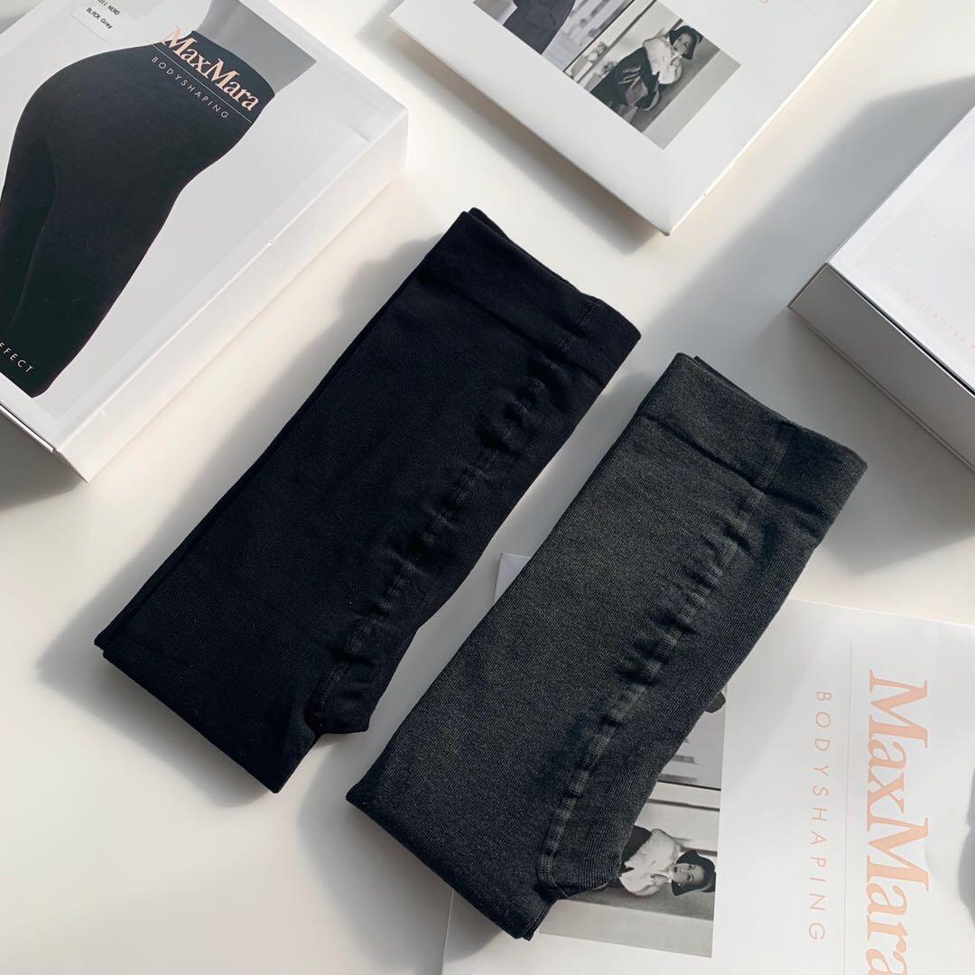 高级灰+经典黑必收组合  仅99元 Maxmara纯正原单  礼盒秋冬羊绒打底裤