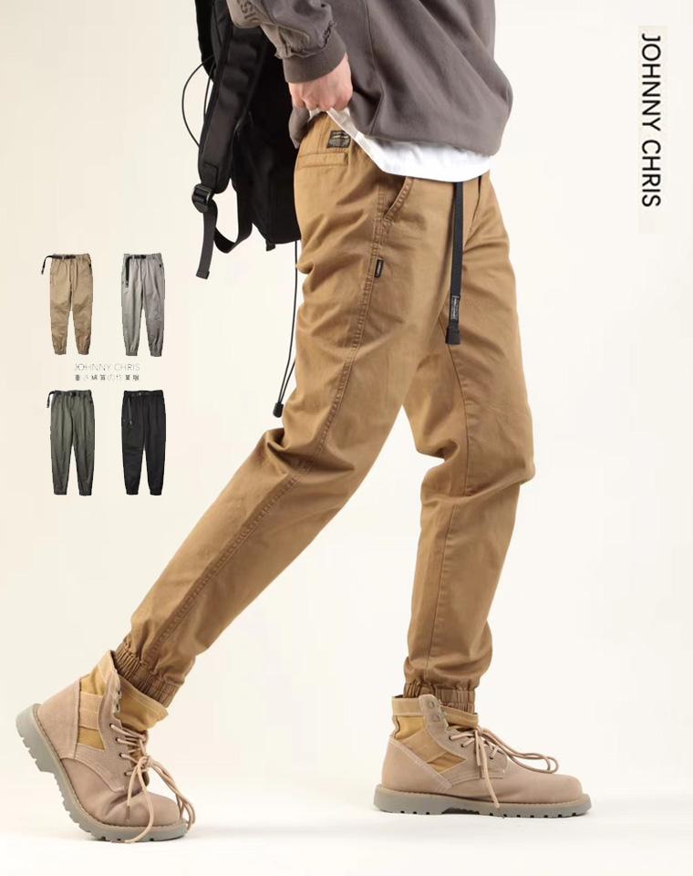给纯爷们の   超级舒服 微弹力  仅128元 Johny Chris纯正原单  客供微弹力 束口长裤   细密全棉松紧卡扣 长裤