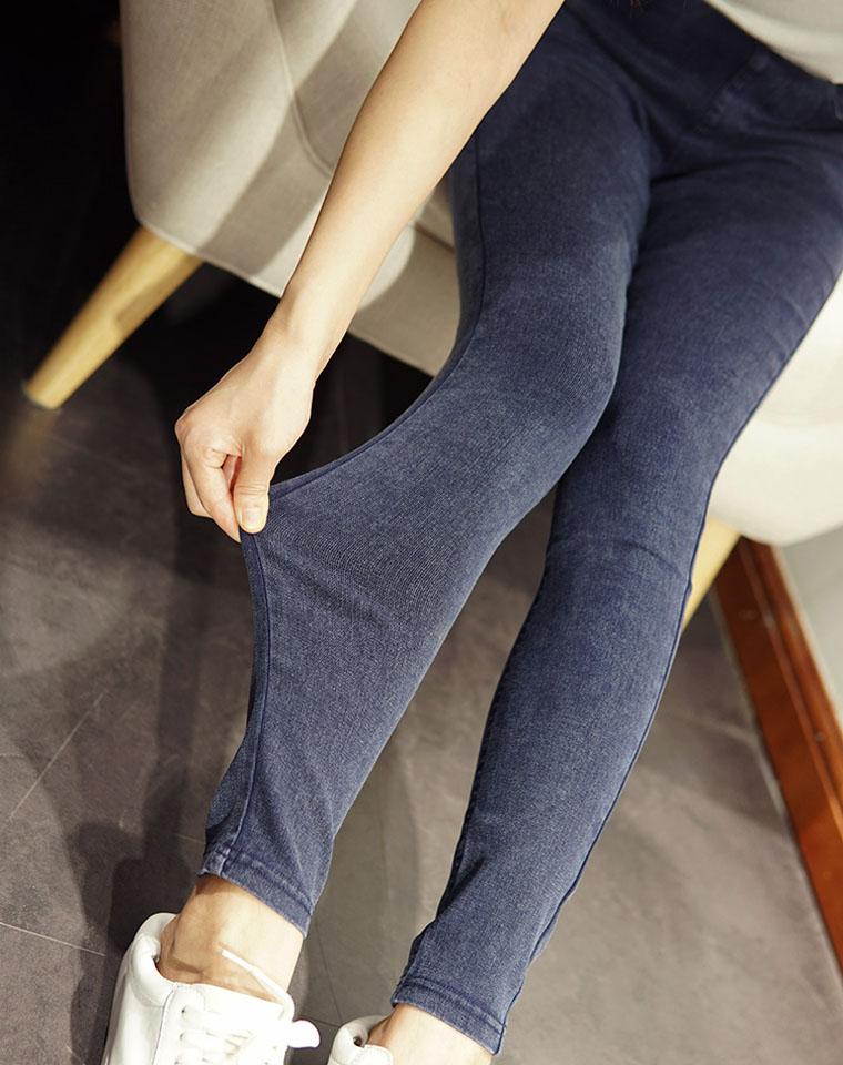 秋冬必备  仅89元 松紧腰巨弹力巨显瘦高腰打底裤紧身 外穿长裤