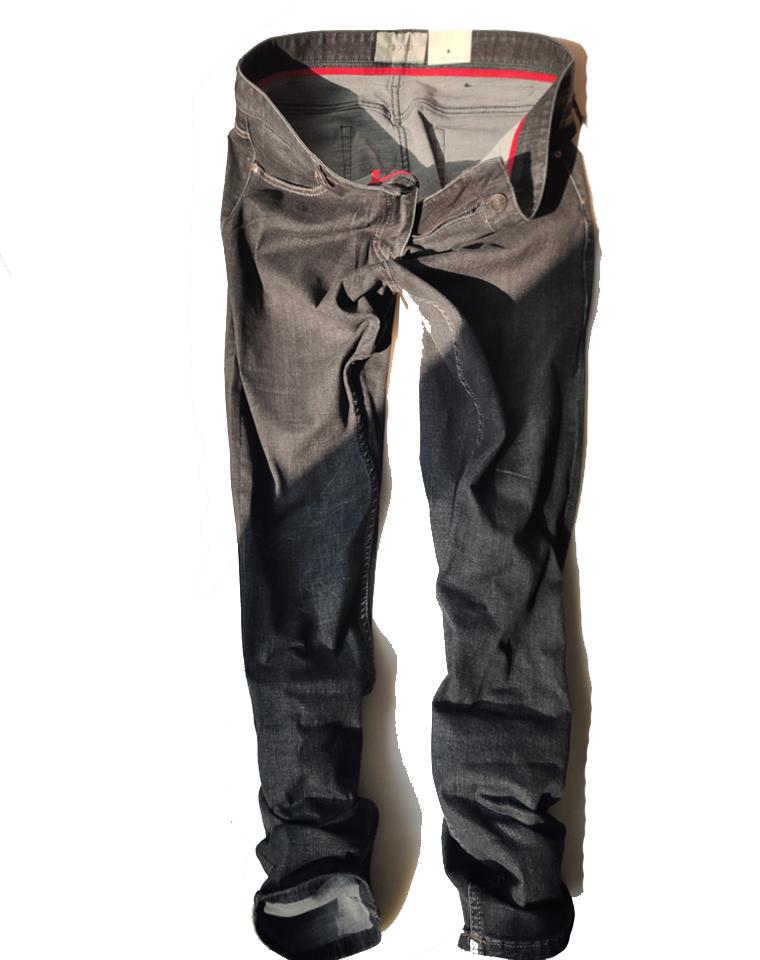 量少!给纯爷们的福利  仅165元  GUCCI纯正原单   男士经典黑灰牛仔裤 秋冬直筒仔裤